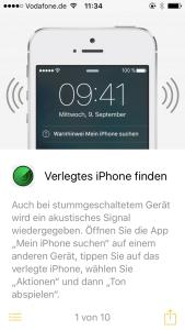Screenshot iPhone-Apps: Tipps