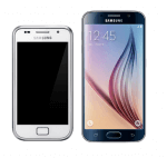 Samsung Galaxy S vs. Samsung Galaxy S6