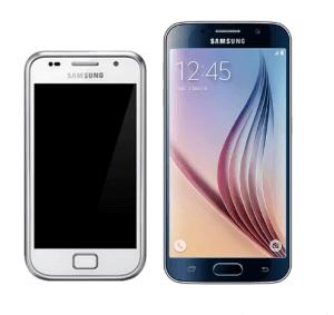 Samsung Galaxy S6 im Vergleich zum Samsung Galaxy S