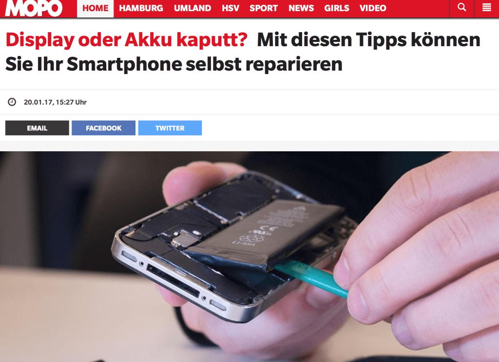 Display oder Akku kaputt? Mit diesen Tipps das Smartphone selbst reparieren