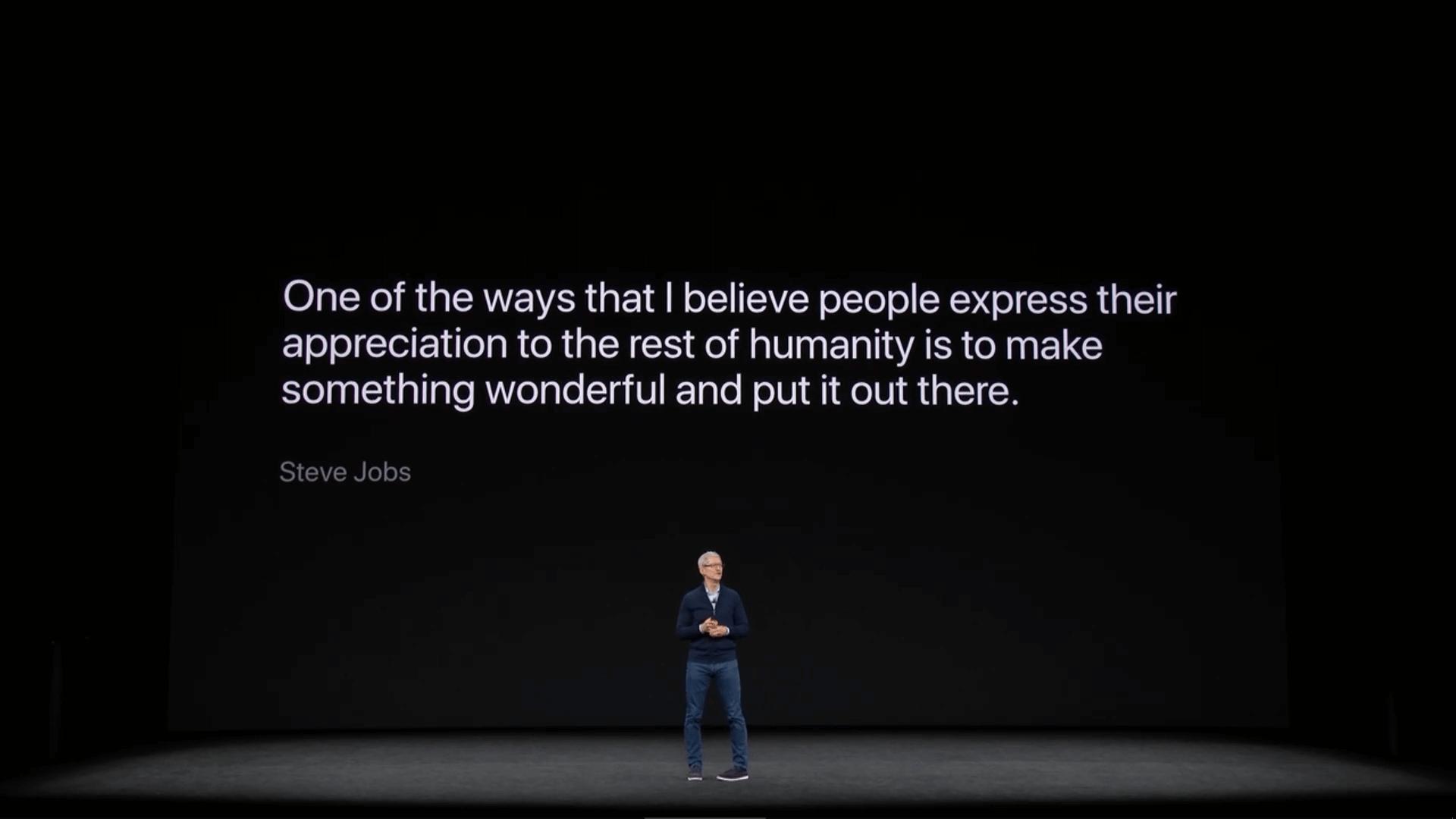 Apple Zitat