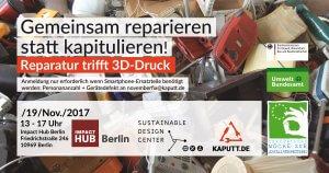 Reparatur trifft 3D-Druck