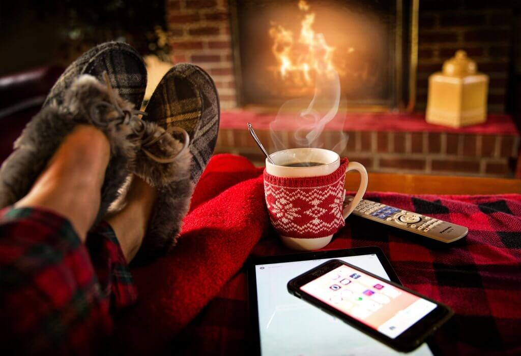Das Handy im Winter warm halten