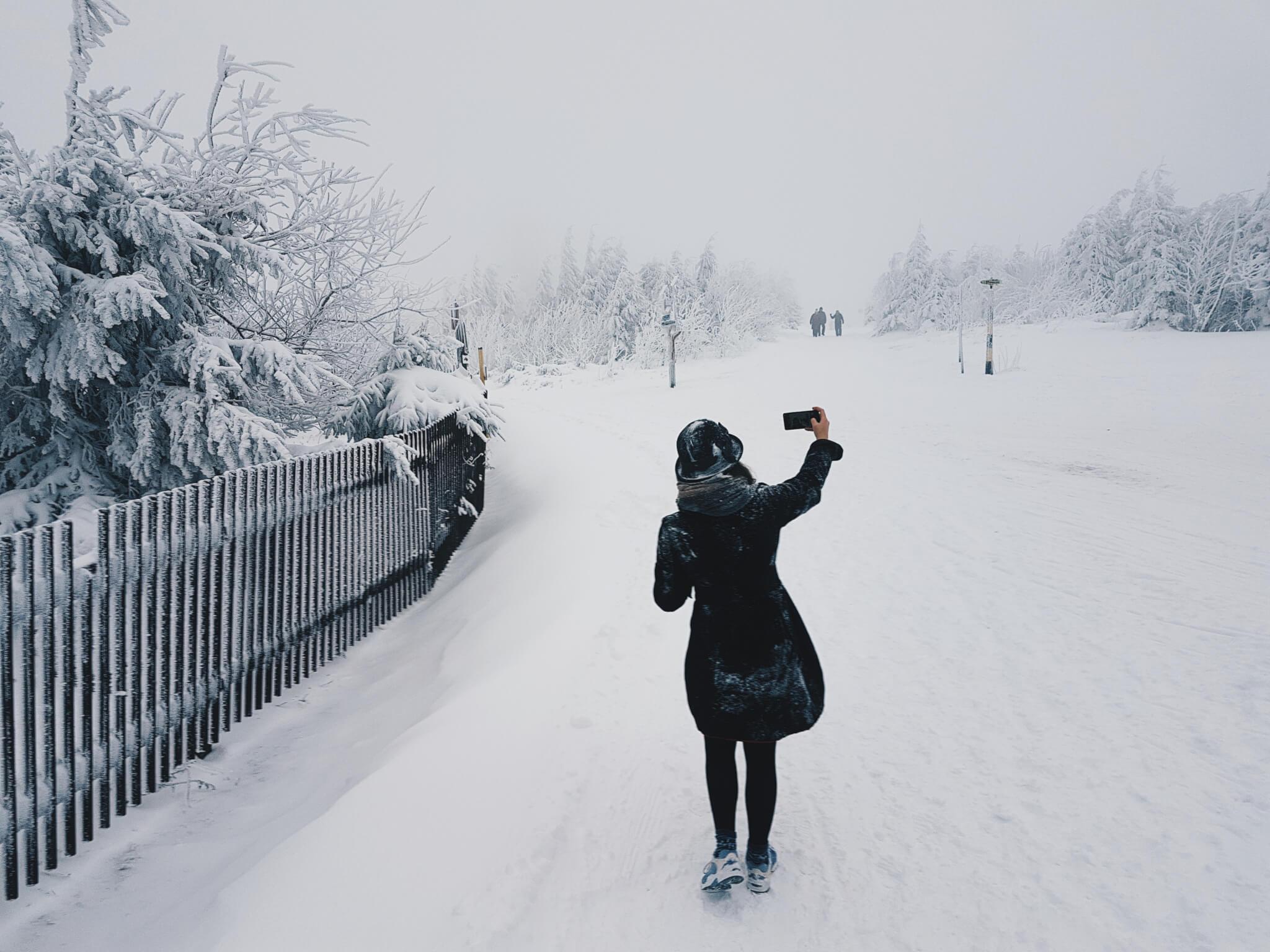 Das Handy im Winter schützen