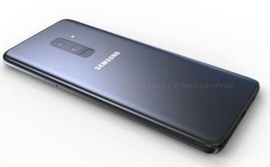 Samsung Gaaxy S9 Plus Leak