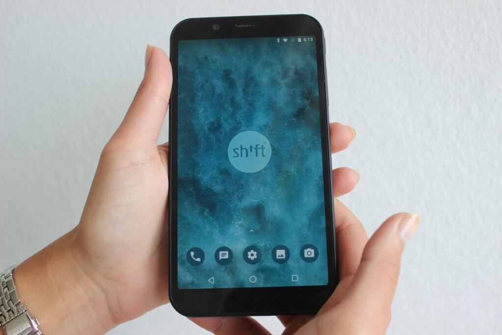 Shifhtphones shift6m im Test