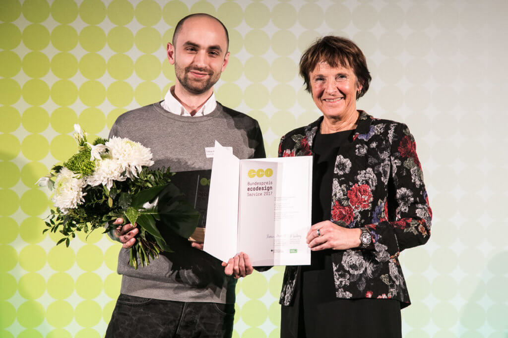 kaputt.de gewinnt den Ecodesign 2017