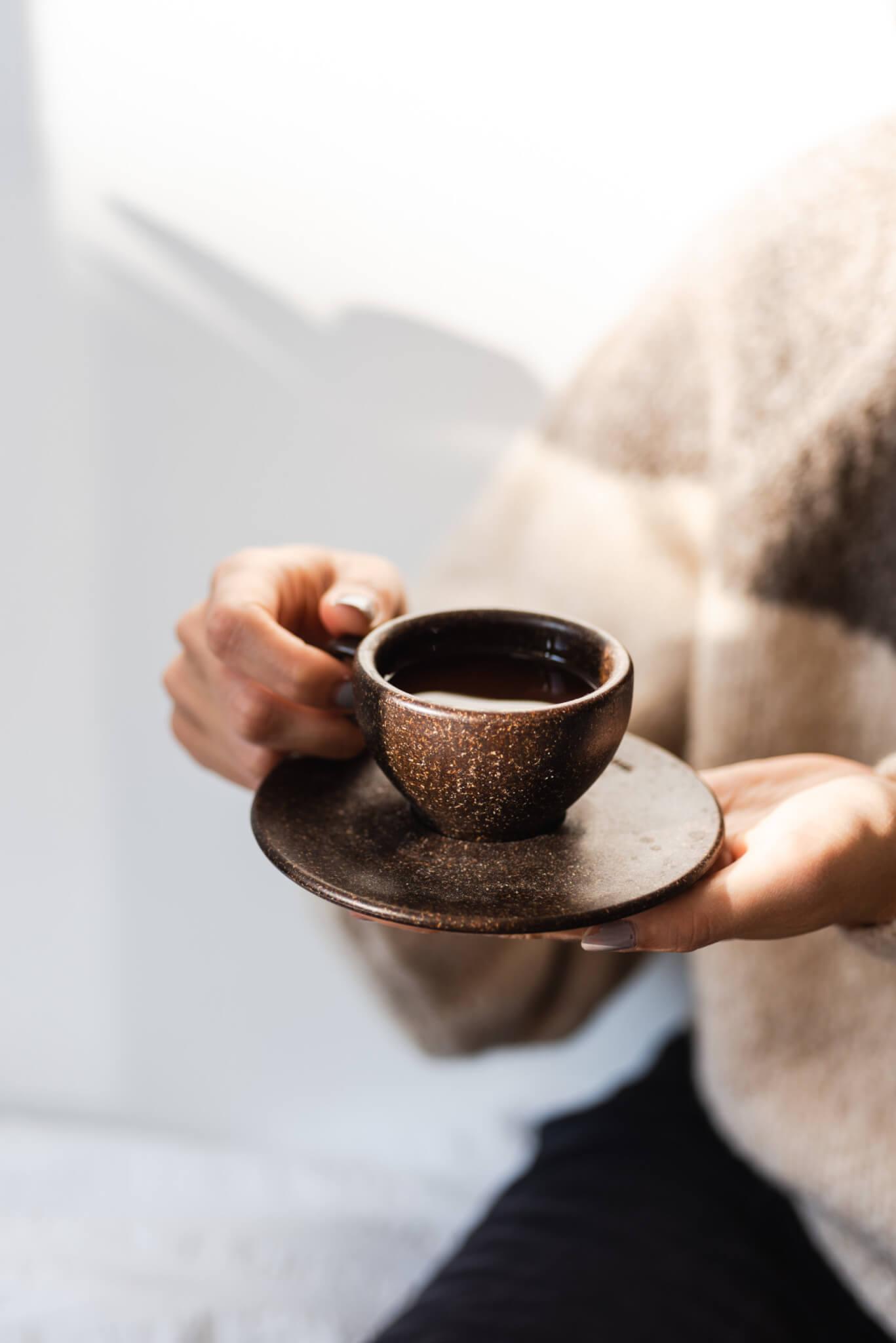 Kaffeetassen aus Kaffeesatz (©Kaffeeform)