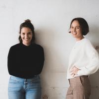 Anna und Sophie Gründerinnen vonn hejhej-mats