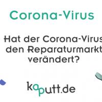 Einfluss von Corona auf den Reparaturmarkt