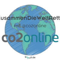 #ZusammenDieWeltRetten mit CO2online
